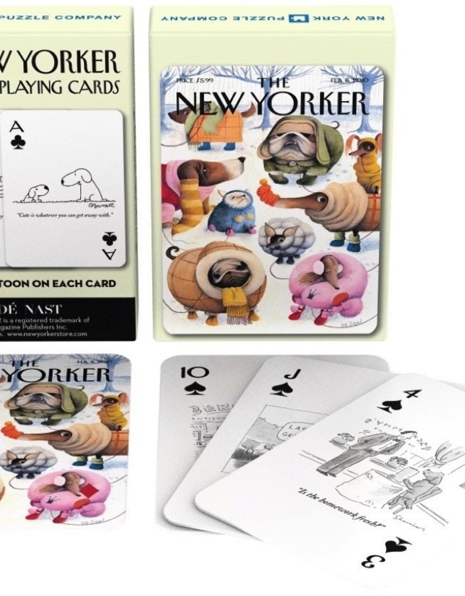 Playing Cards New Yorker Dog Cartoons