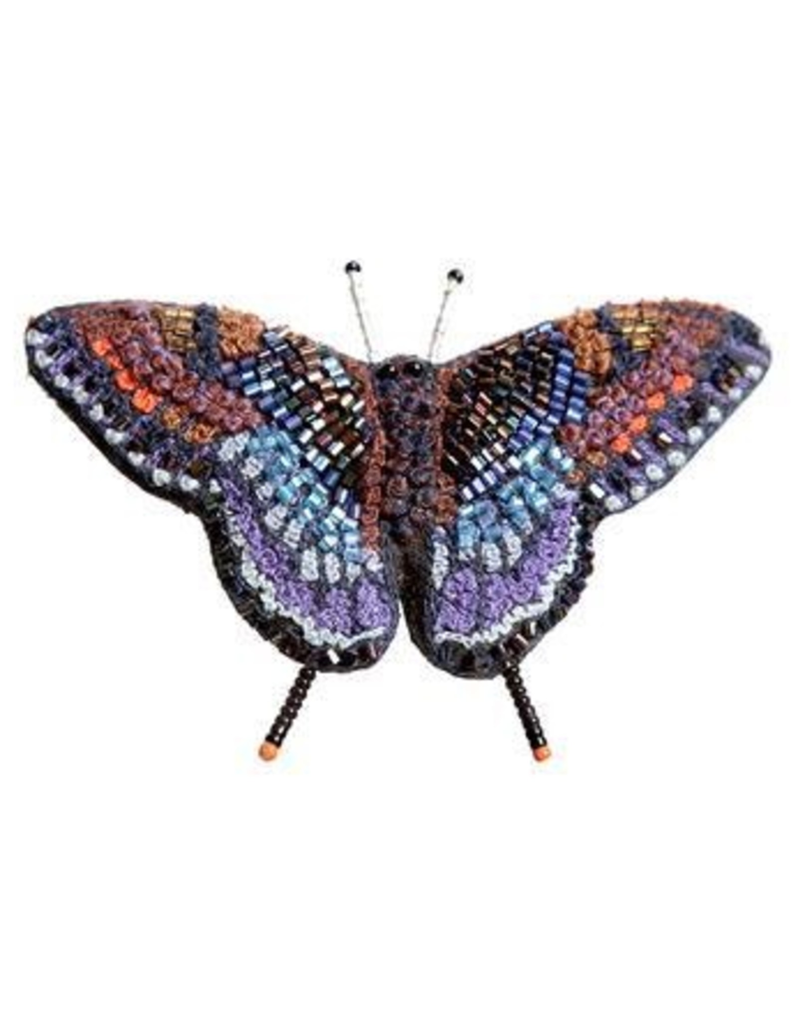 Red Spotted Purple Butterfly Pin