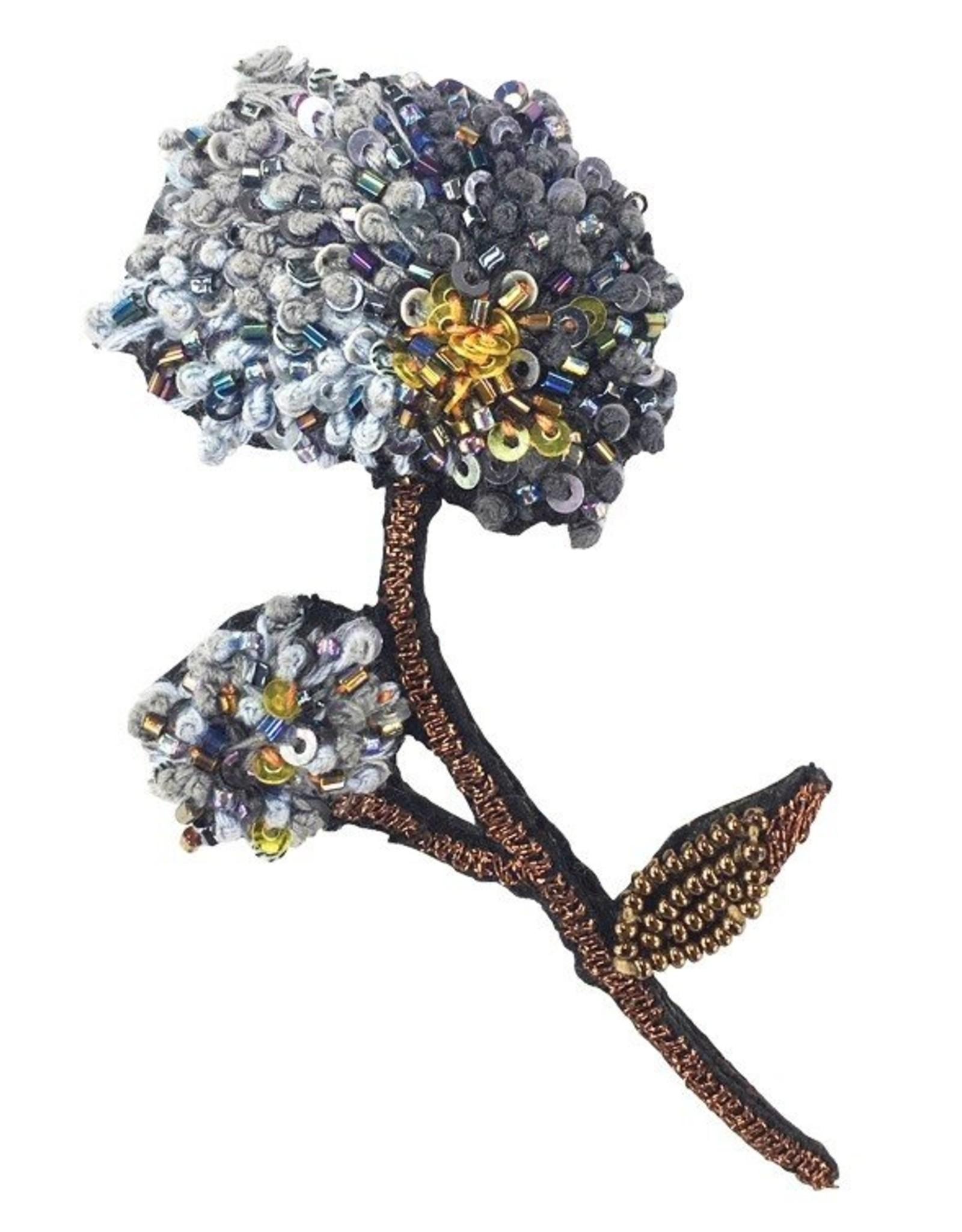 Hydrangea Brooch Pin