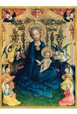 Cards Virgin Of The Rose Bush