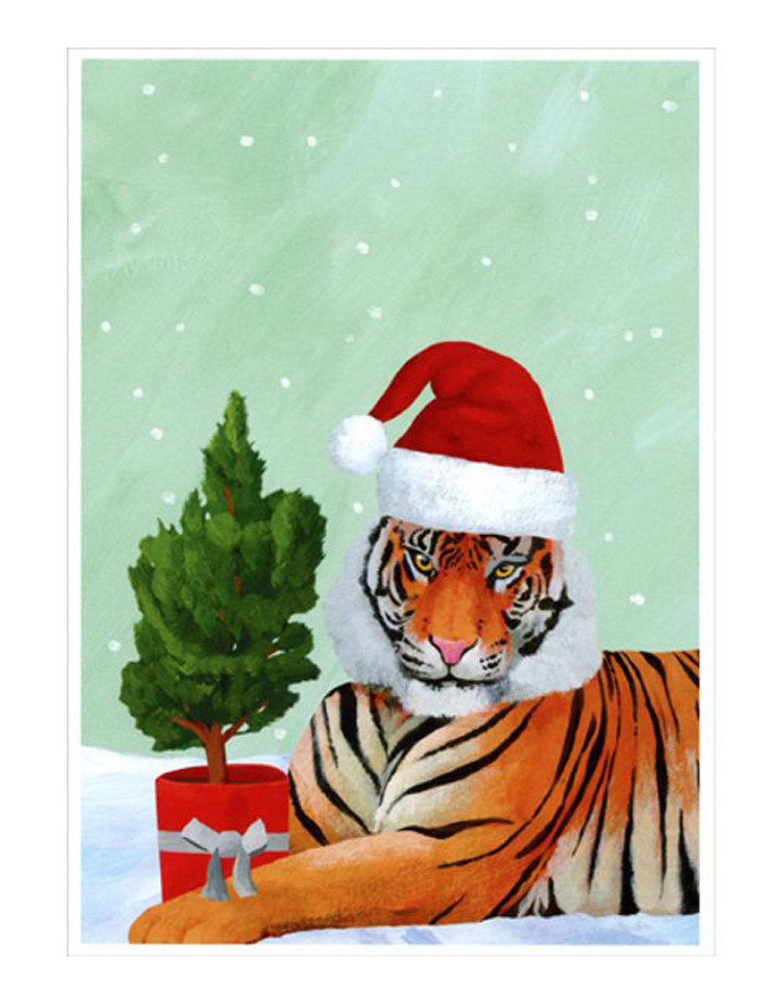 Holiday Cards Tiger