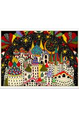 Holiday Cards Daria Hlazatova Imaginary City