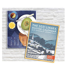 Calendar Linnea Posters with Artworks by Johanna Riley