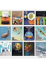 Calendar Linnea Posters with Artworks by Johanna Riley