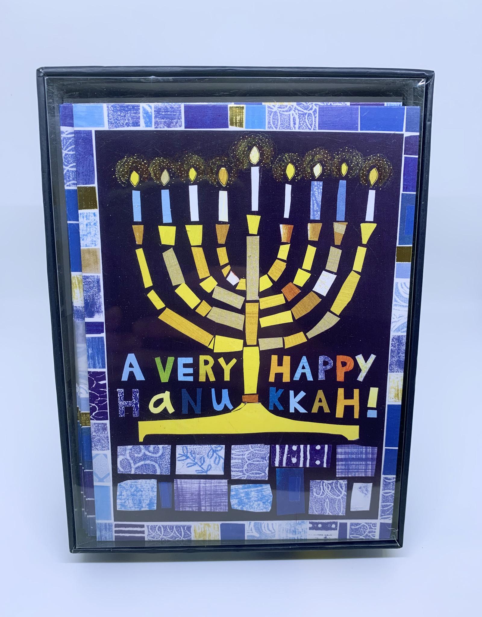 Cards Hanukkah Mosaic