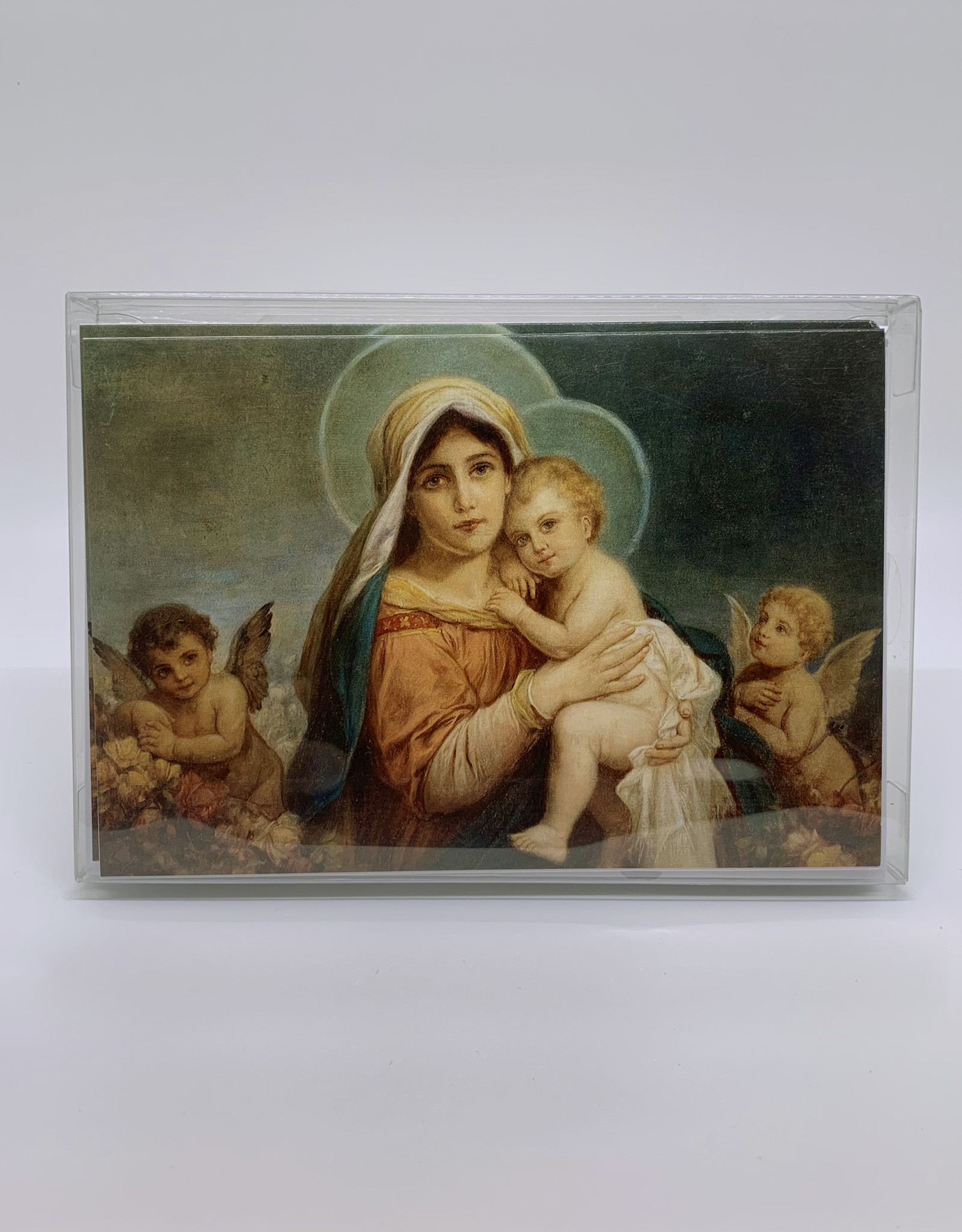 Boxed Cards Xmas Madonna Child