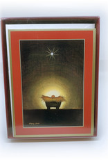 Boxed Cards Star And Creche