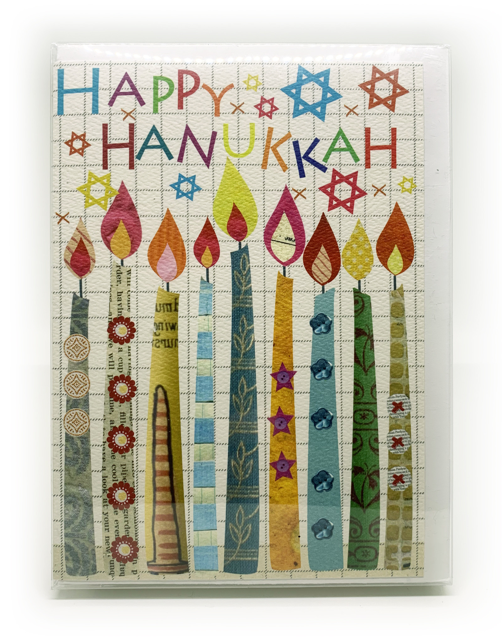 Cards Hanukkah Candles