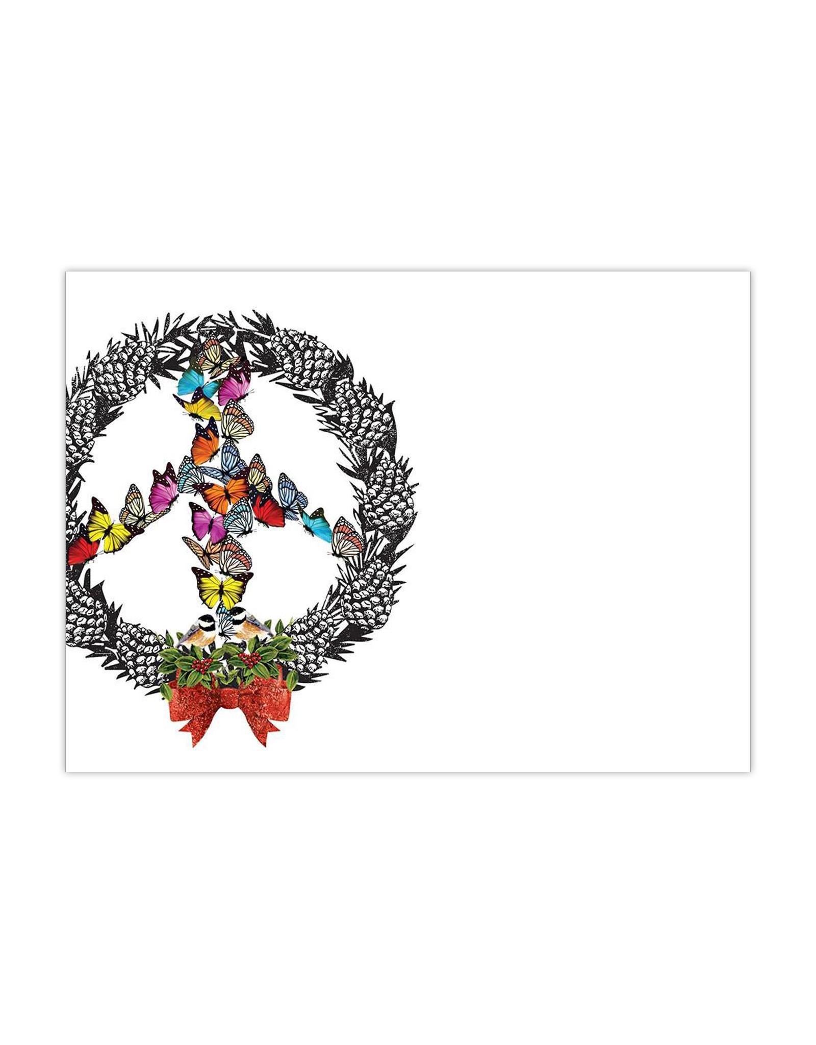 Boxed Cards Peace Wreath
