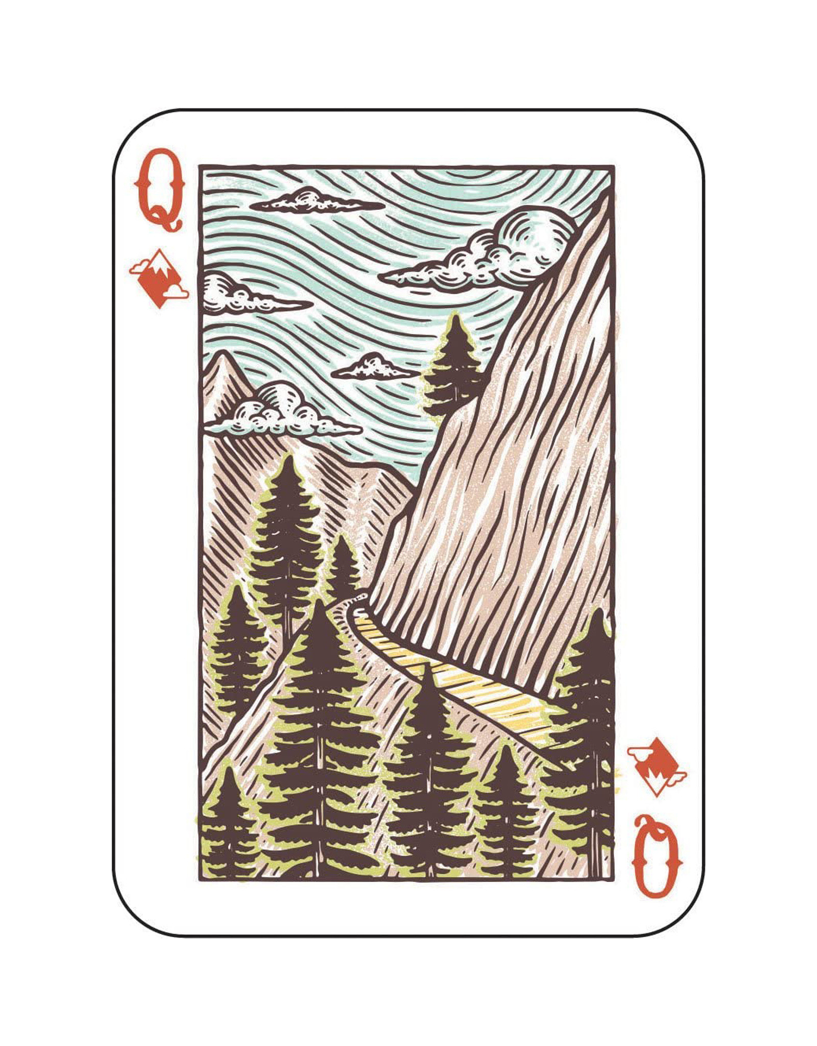Playing Cards Great Outdoors