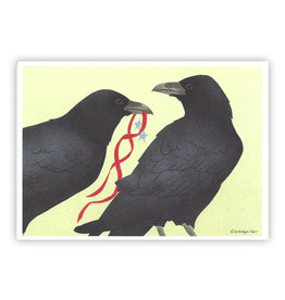 Raven Pair Boxed Cards