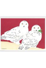 Cards Snowy Owls