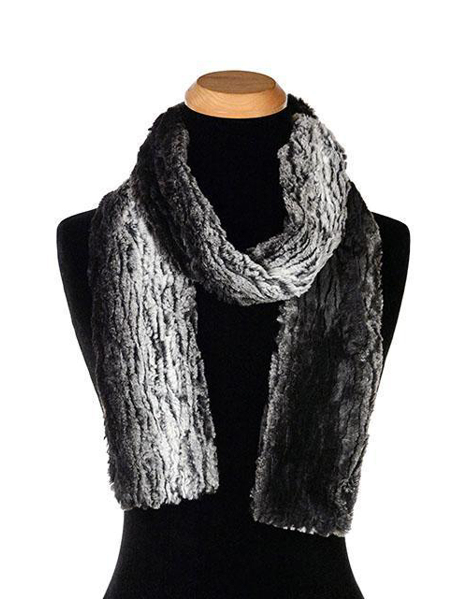 Faux Fur Scarf in Sequoia
