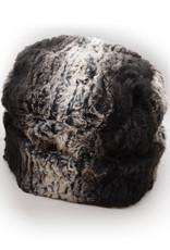 Cuffed Pillbox Hat in Sequoia
