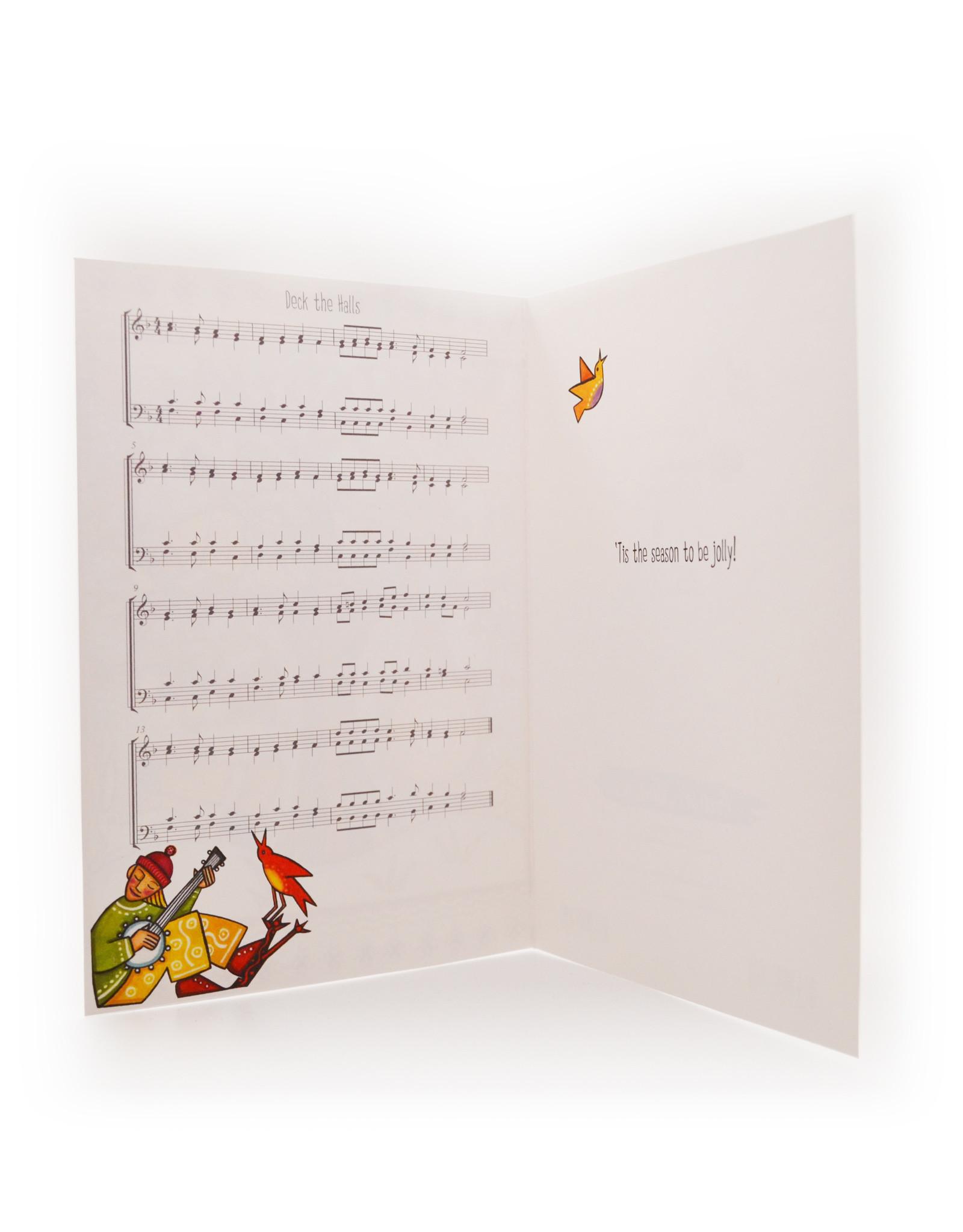Cards Winter Musicians