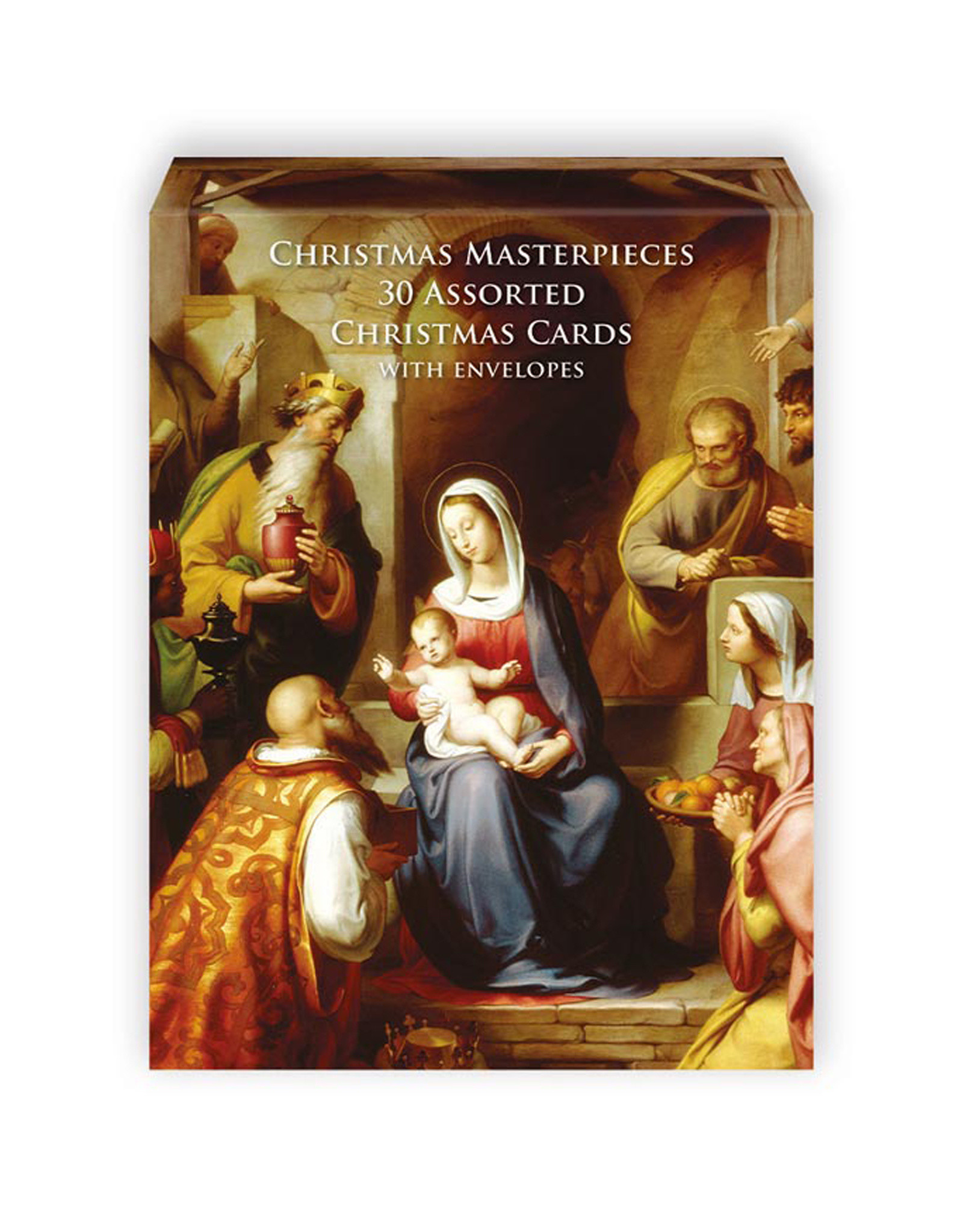 Assorted Cards Christmas Masterpieces