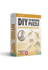 3D Wooden Puzzle: Dinosaurs