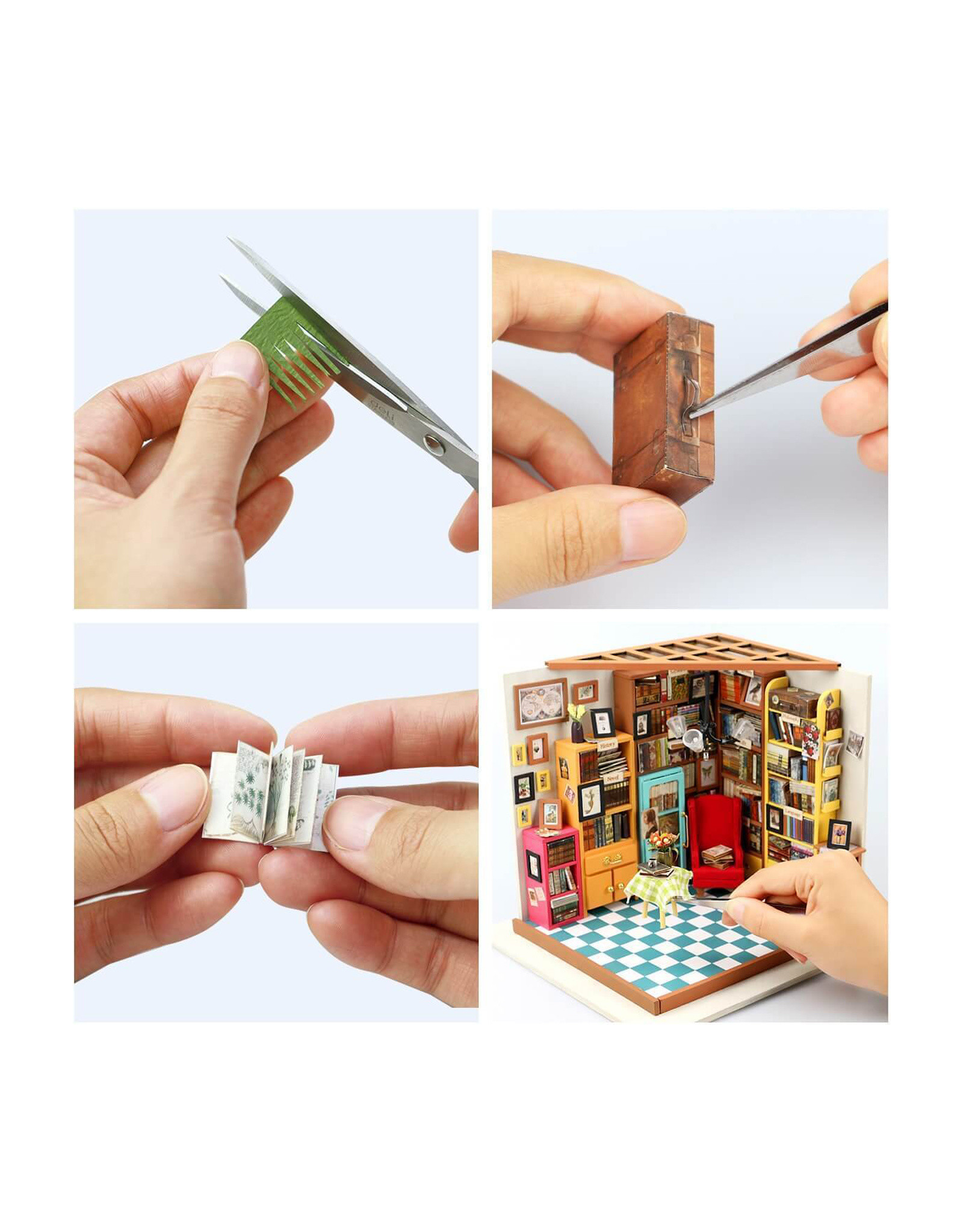 DIY Miniature Book Store