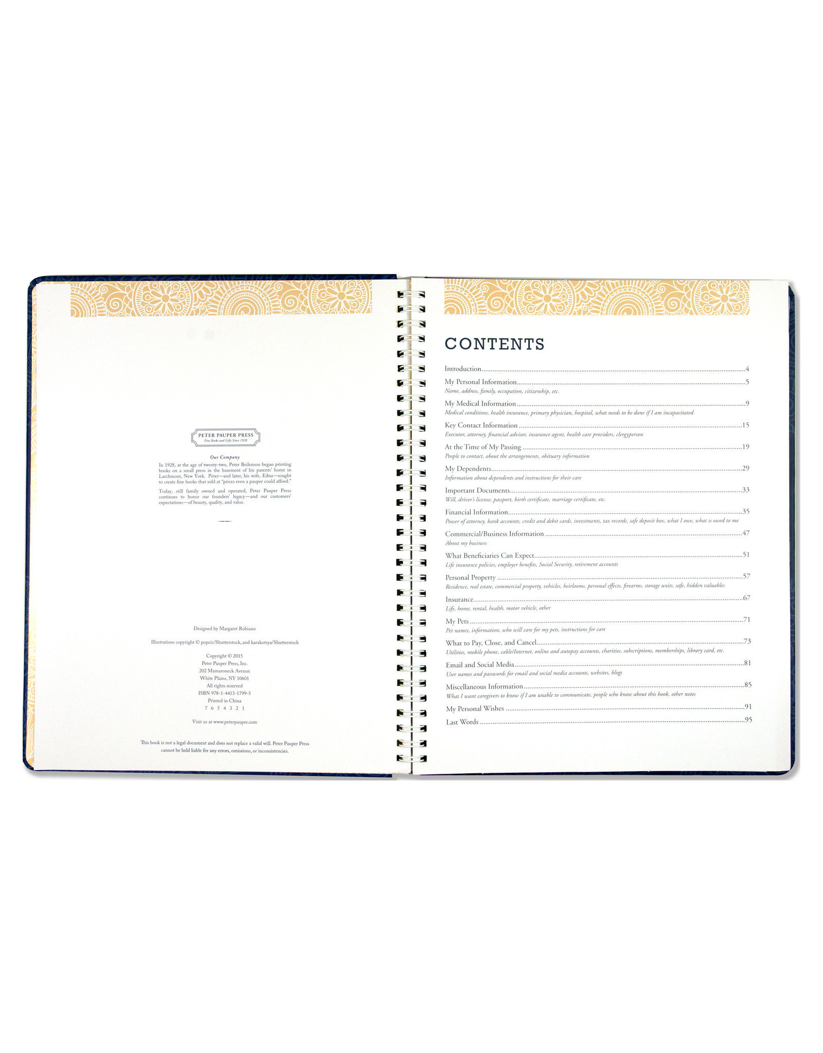 Planner Peace of Mind
