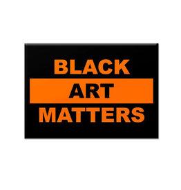 Willie Cole Black Art Matters Magnet