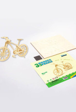 3D Wooden Puzzle: Bicycle