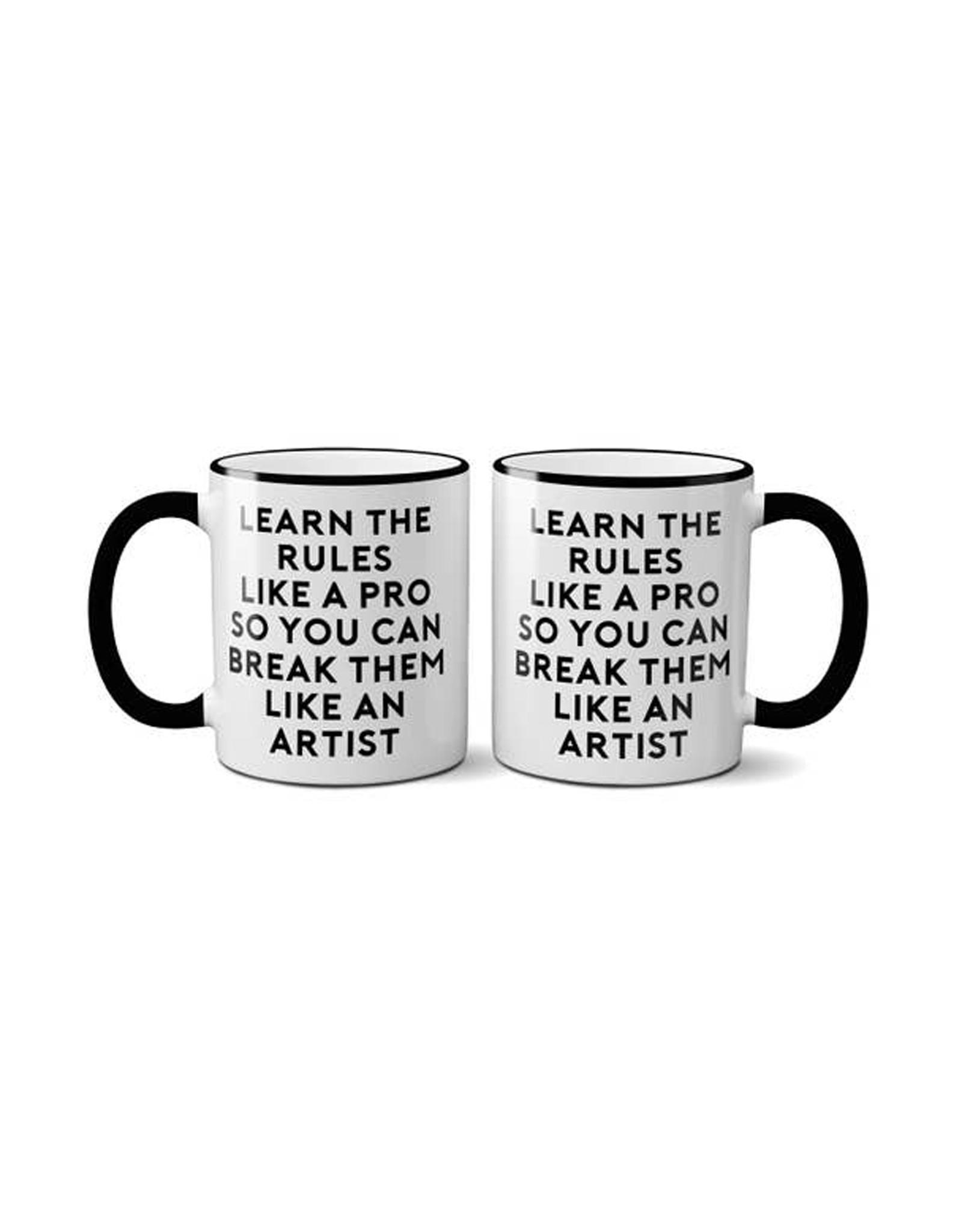 Mug Learn The Rules Like A Pro