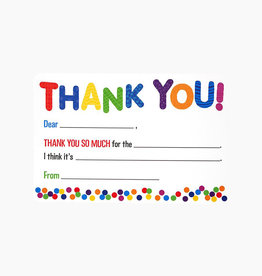 Kid's Fill In Thank You Notes