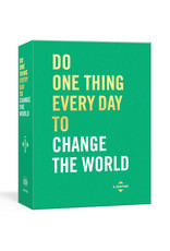 Do One Thing Everyday To Change The World