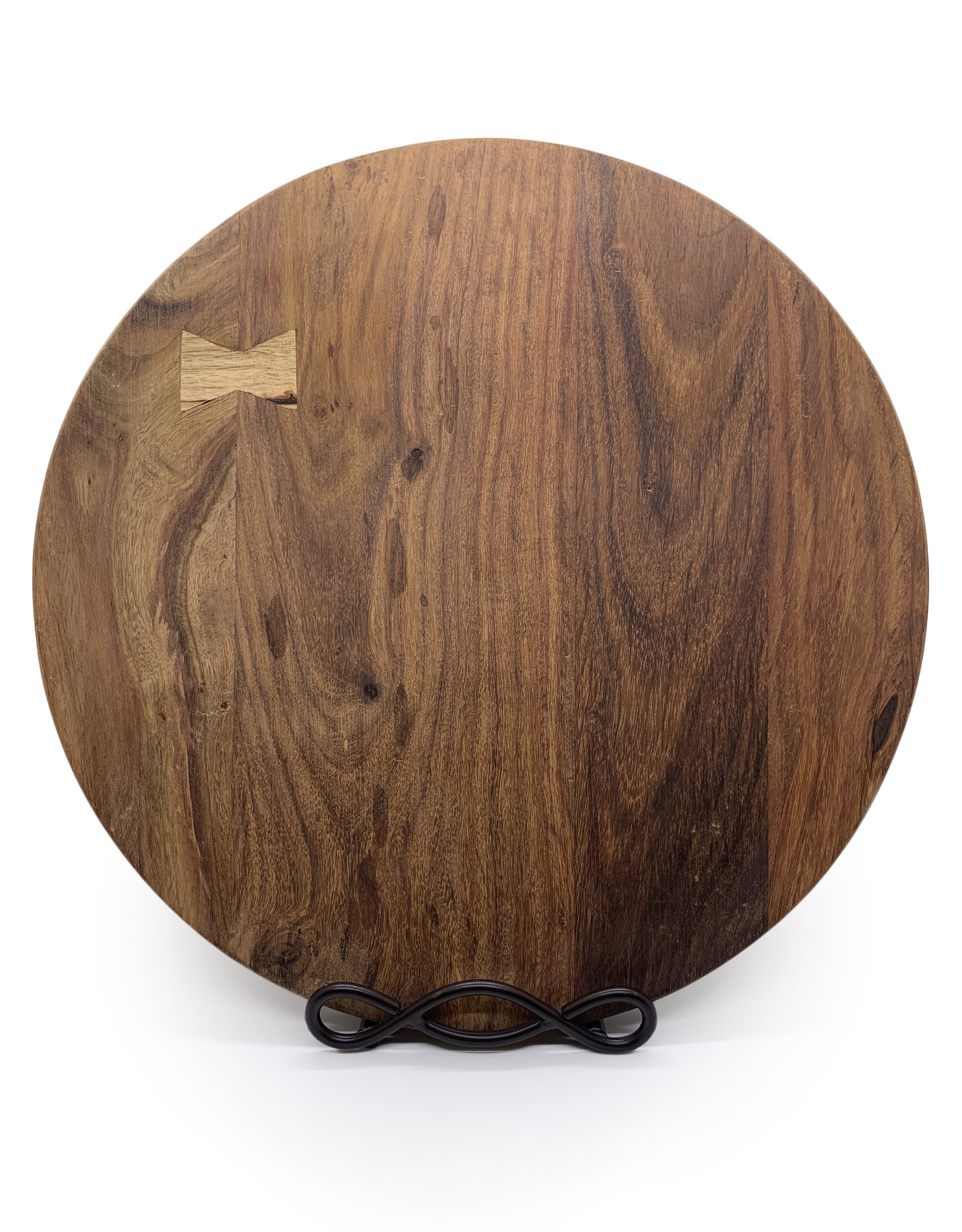 Round Wooden Cheese Board