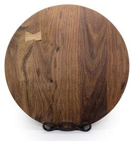 Round Wooden Cheese Board