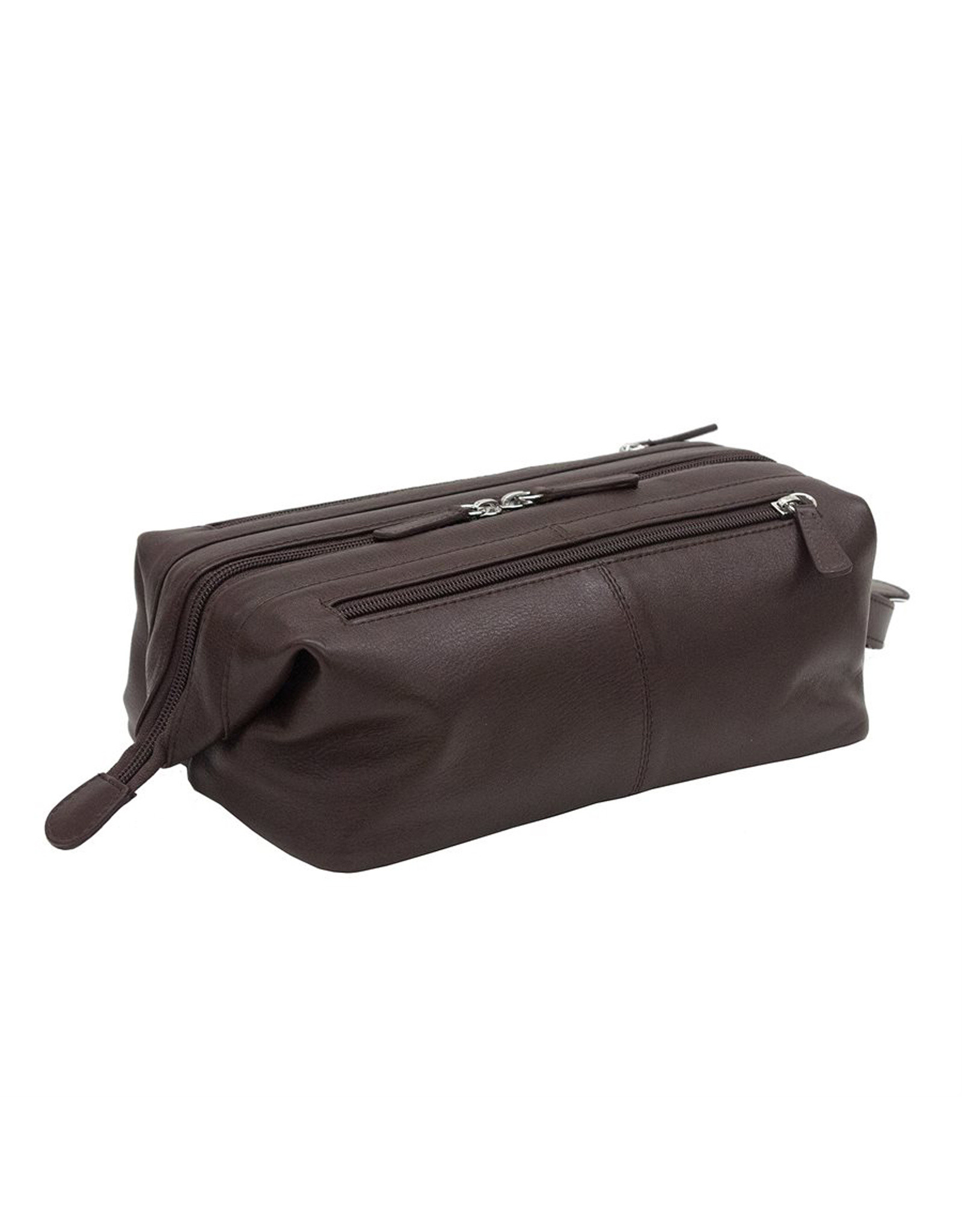 Brown Leather Toiletry Kit