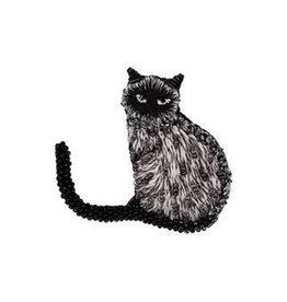 Siamese Cat Brooch Pin