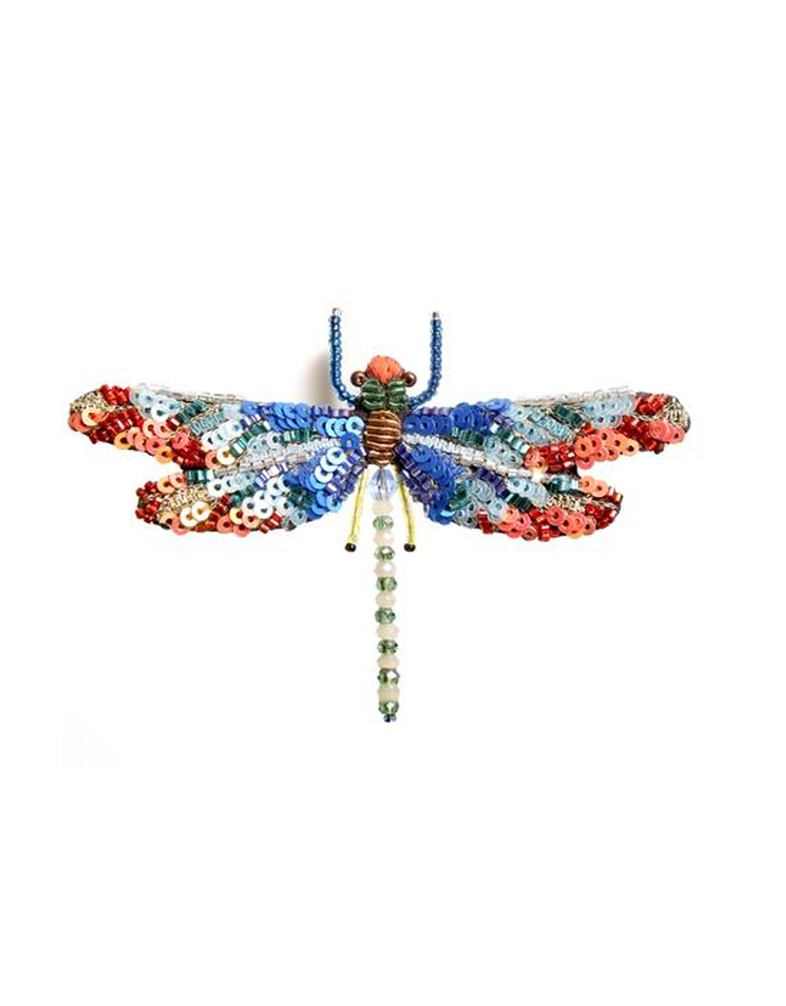 Sunrise Dragonfly Brooch
