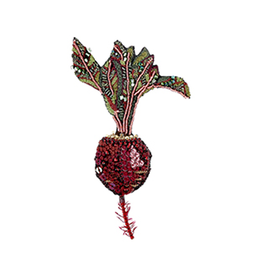 Beet Brooch Pin