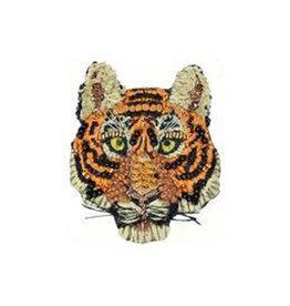 Tiger Brooch Pin