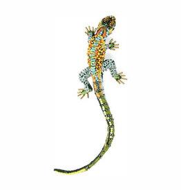 Caiman Lizard Brooch