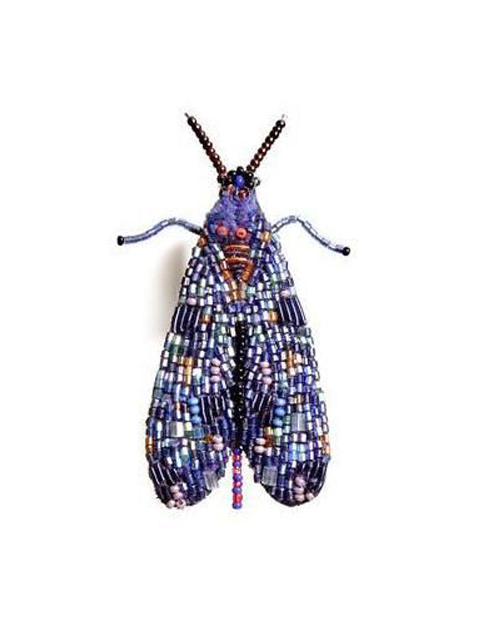 Mosaic Fly Brooch