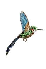 Tropical Hummingbird Brooch