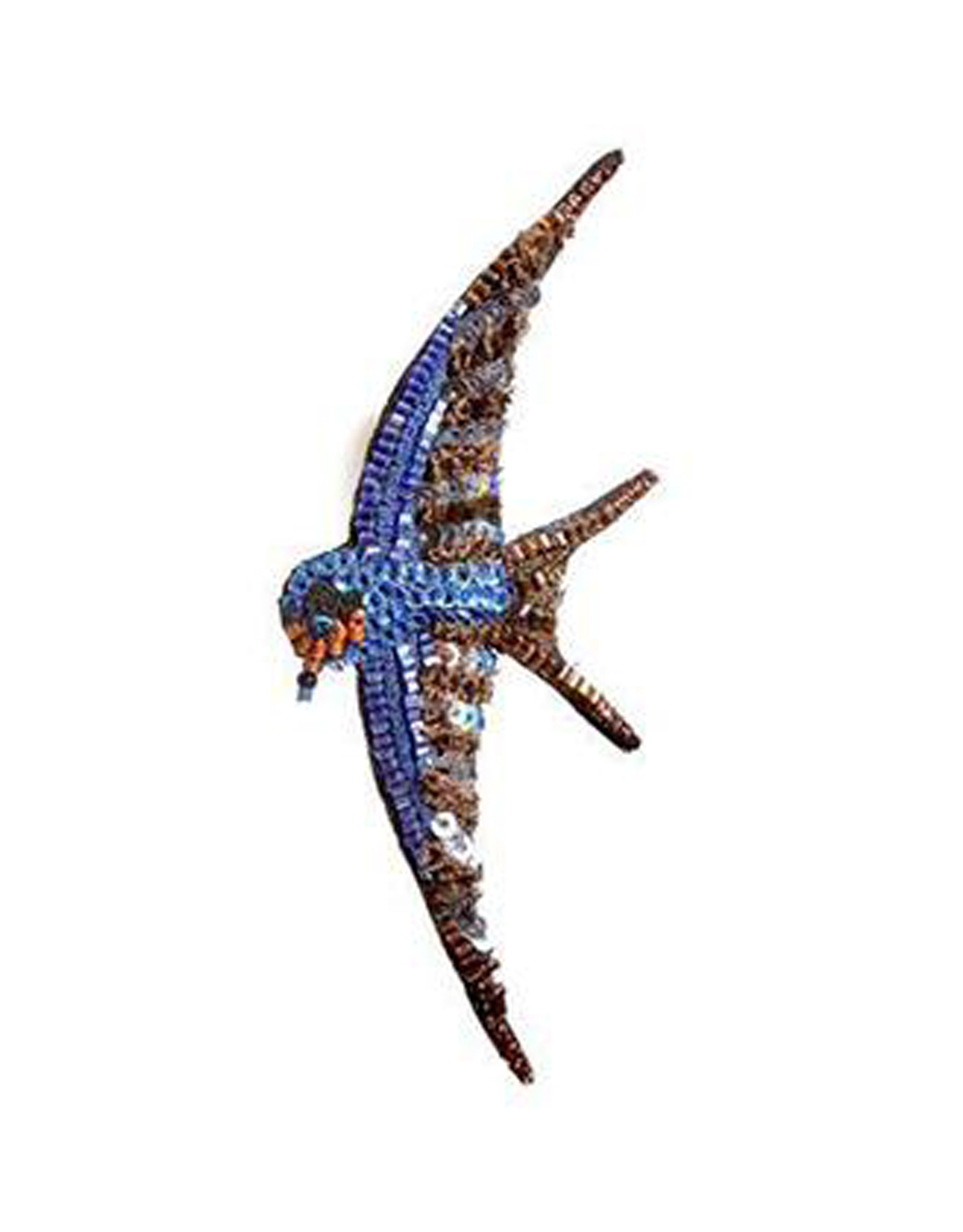 Barn Swallow Brooch Pin