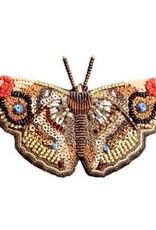Apatura Iris Butterfly Brooch