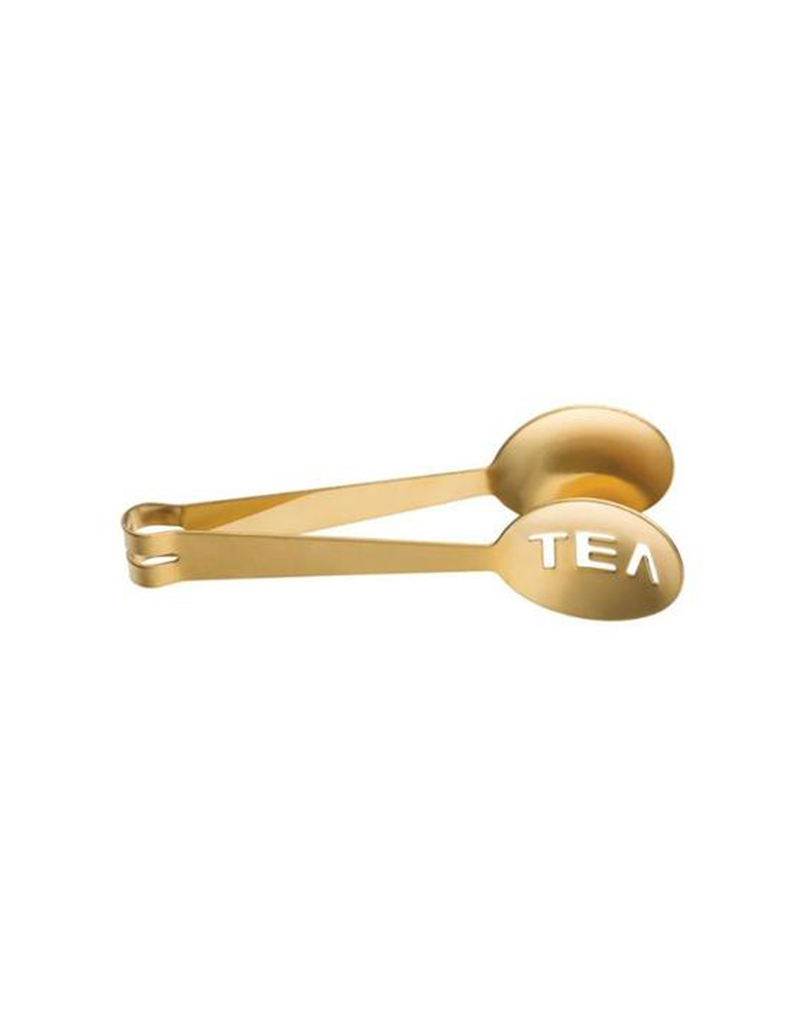 Gold Stainless Steel Tea Tongs