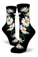 Socks Crazy For Daisies Black