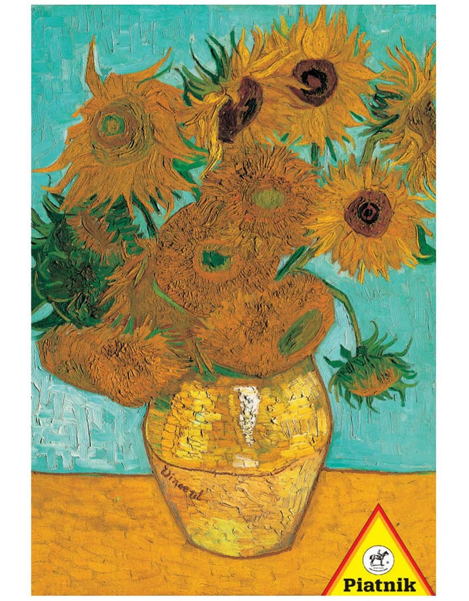 Puzzle Van Gogh Sunflowers