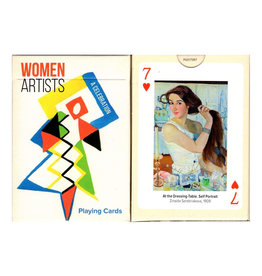 Playing Cards Woman Artists