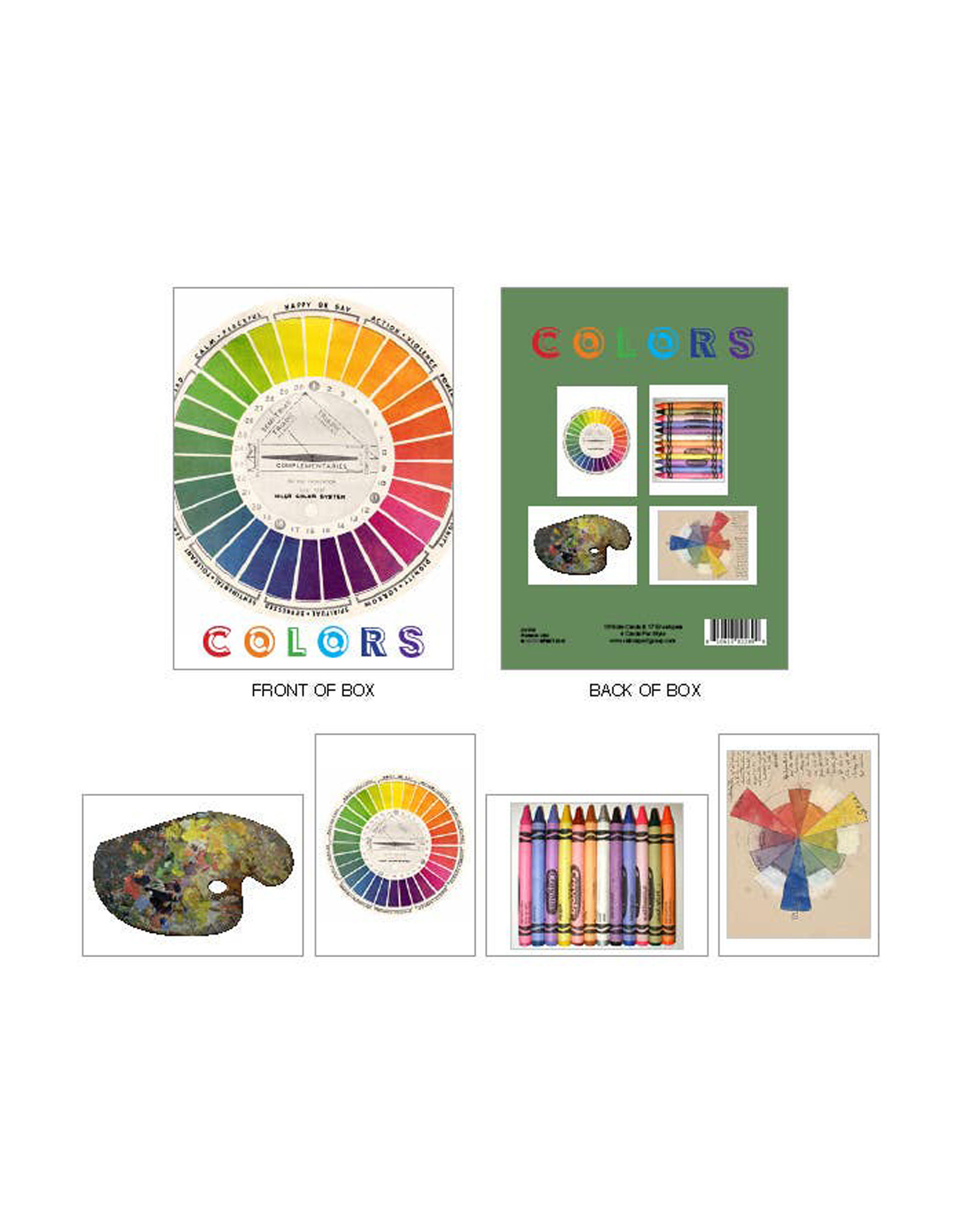 Colors Boxed Cards