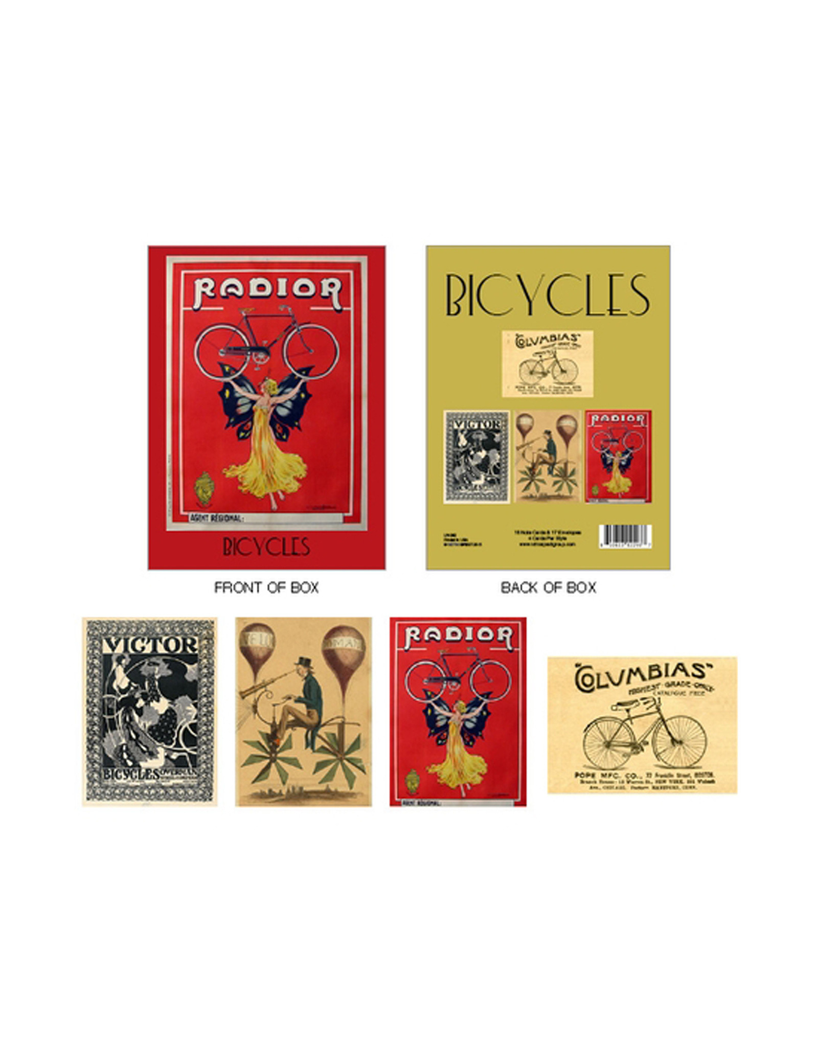 Bicycles Boxed Cards