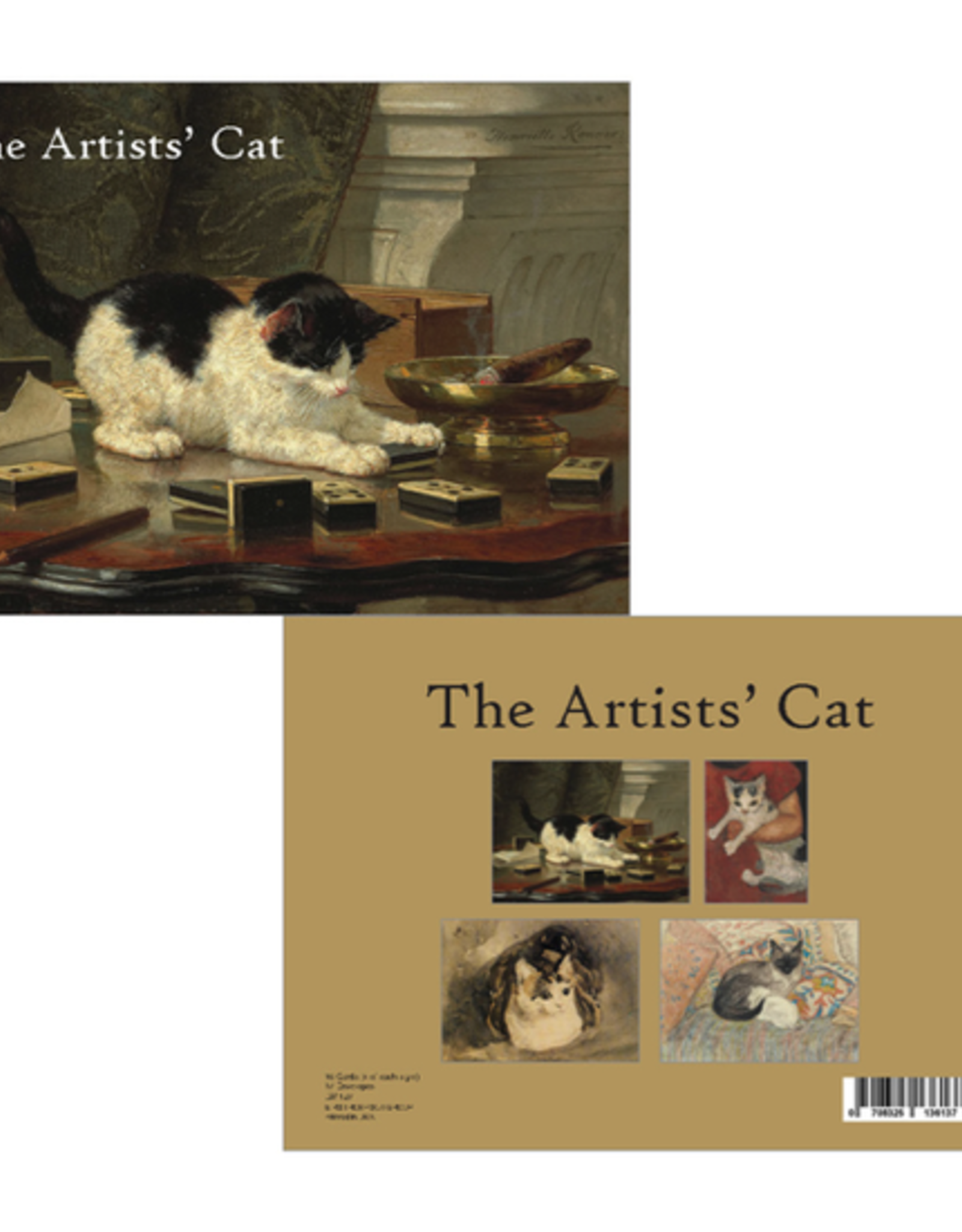 Artists' Cat Boxed Cards