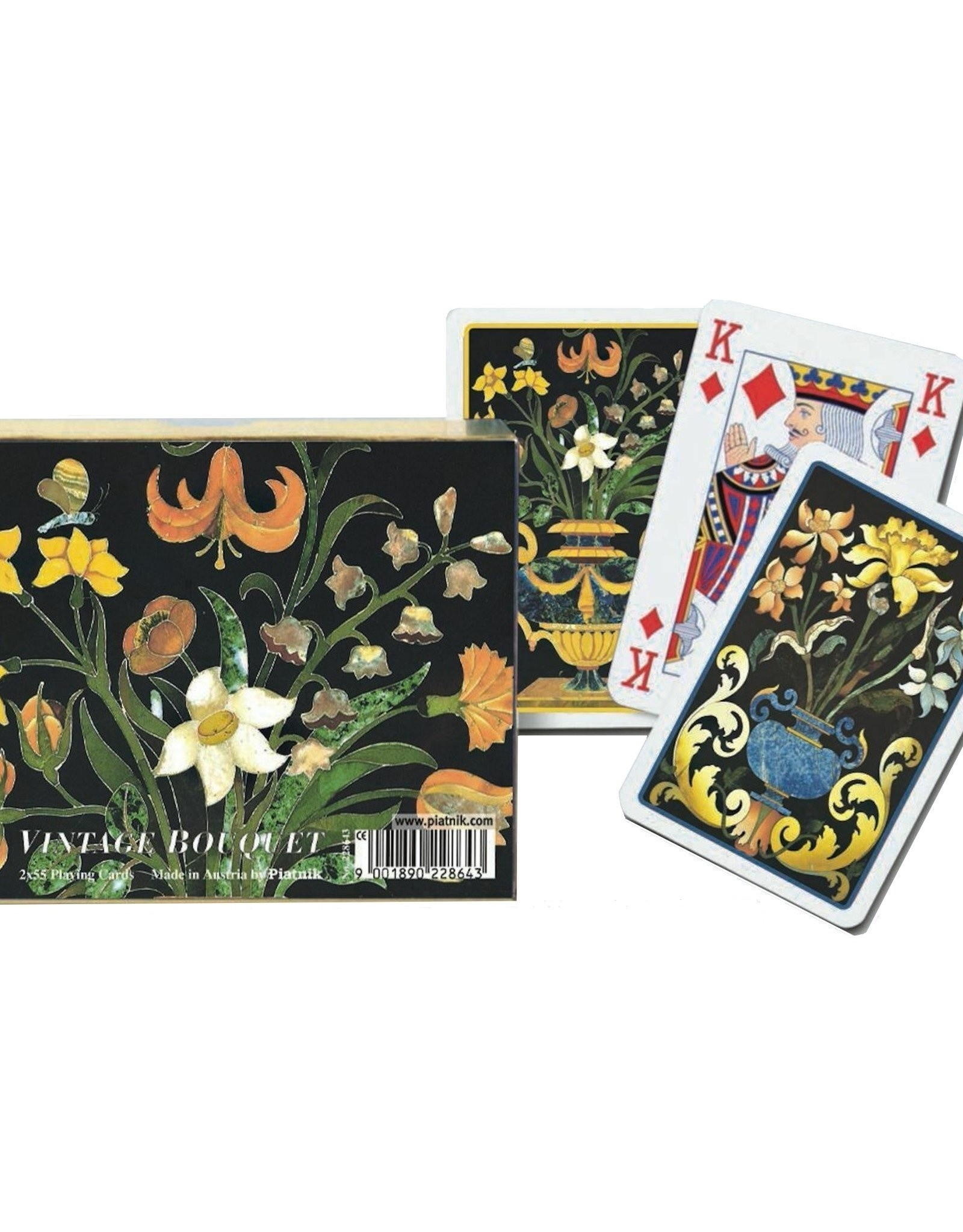 Vintage Bouquet Playing Cards