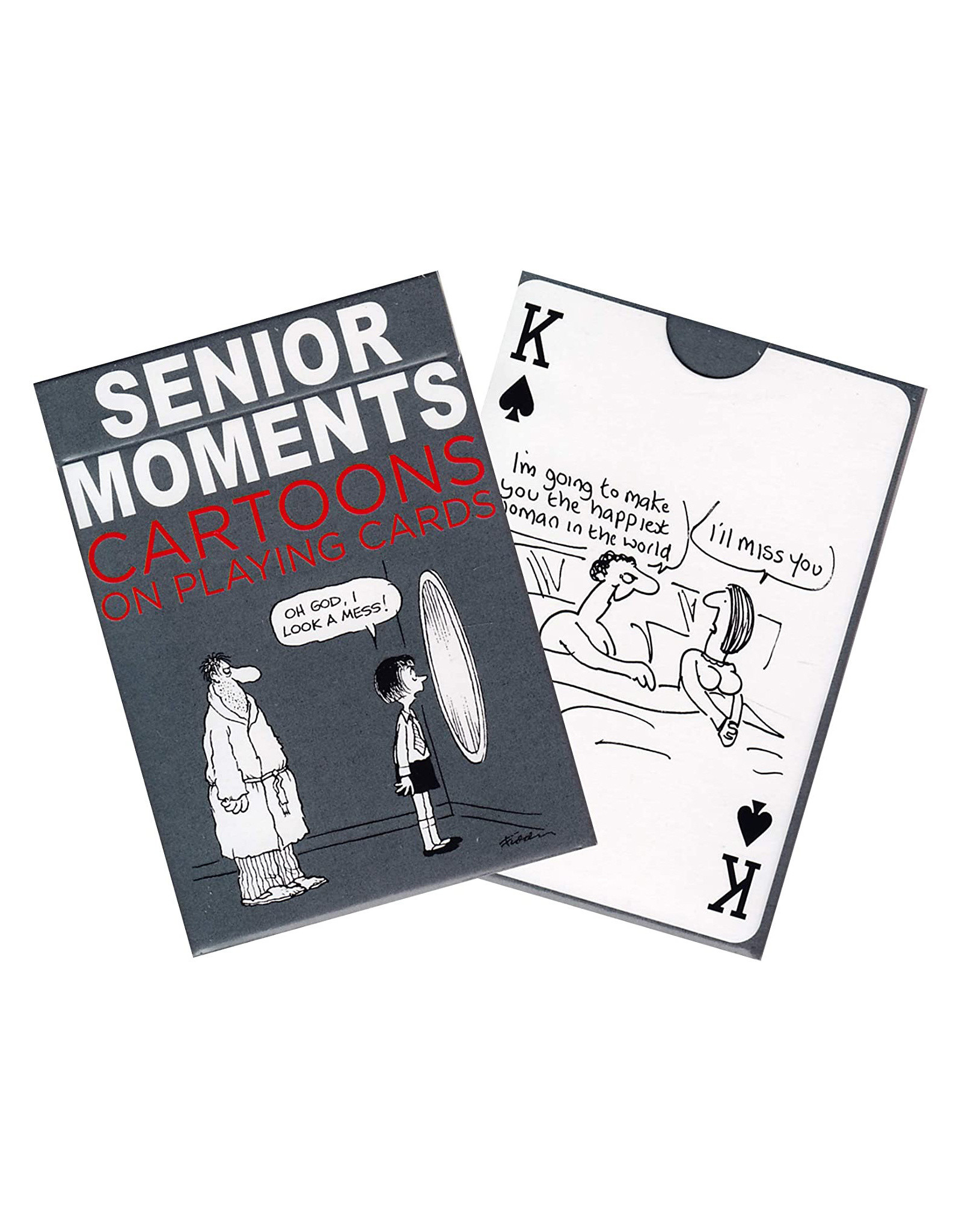 Senior Moments Playing Cards