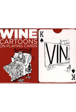 Wine Cartoons Playing Cards